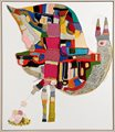 i am your exotic bird [2012] mixed media on canvas 147 x 128cm